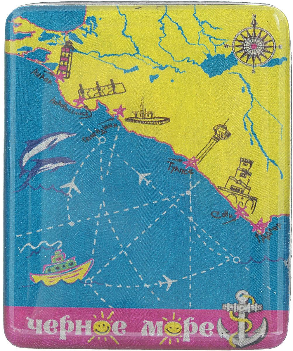 Магнит Феникс-презент Черное море, 4,5 x 5,5 см17243Магнит прямоугольной формы Феникс-презент Черное море, выполненный из агломерированного феррита, станет приятным штрихом в повседневной жизни. Оригинальный магнит, декорированный изображением моря, поможет вам украсить не только холодильник, но и любую другую магнитную поверхность. Материал: агломерированный феррит.