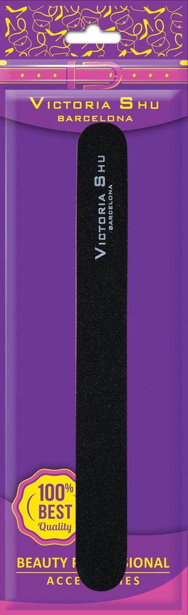 Victoria Shu Пилочка для ногтей Прямая F302, 15 г1060V10Пилка для ногтей выполнена из высококачественного износостойкого материала. Она поможет быстро выровнять поверхность и смоделировать форму ногтя. Используется для профессионального ухода за искусственными и натуральными ногтями. Благодаря пластиковой основе с ней удобно работать и легко дезинфицировать. Абразивность 100/180.