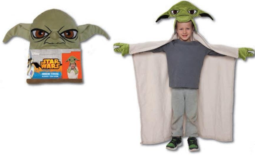 15671 Плед с капюшоном StarWars (Звёздные Войны) - Yoda, размер 100х100 см15671Детский плед с капюшоном – удивительная и многофункциональная вещь, от приобретения которой выиграют все. Родители, потому что получают для своих любимых чад тёплое и мягкое покрывальце. Дети, потому что мягкий плед может использоваться как накидка или пончо, а это отличная возможность преобразиться из мальчика или девочки в любимого героя. Данная текстильная продукция занимает высокие позиции на потребительском рынке благодаря своим оригинальным дизайнам и безопасным материалам.