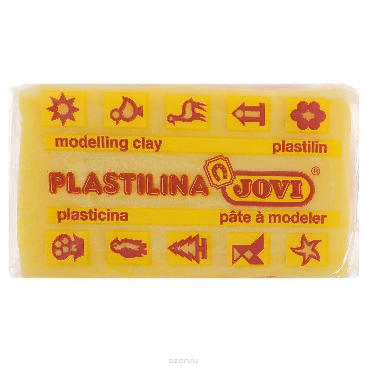 Jovi Пластилин цвет темно-желтый 50 г7003U_темно-желтыйПластилин Jovi - лучший выбор для лепки, он обладает превосходными изобразительными возможностями и поэтому дает простор воображению и самым смелым творческим замыслам. Пластилин, изготовленный на растительной основе, очень мягкий, легко разминается и смешивается, не пачкает руки и не прилипает к рабочей поверхности. Пластилин пригоден для создания аппликаций и поделок, ручной лепки, моделирования на каркасе, пластилиновой живописи - рисовании пластилином по бумаге, картону, дереву или текстилю. Пластические свойства сохраняются в течение 5 лет.