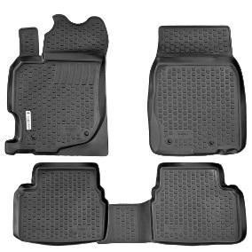 Коврики в салон Mazda CX-9 (07-)(3 ряда сидений) полиуретан0210070101Коврики производятся индивидуально для каждой модели автомобиля из современного и экологически чистого материала, точно повторяют геометрию пола автомобиля, имеют высокий борт от 3 см до 4 см., обладают повышенной износоустойчивостью, антискользящими свойствами, лишены резкого запаха, сохраняют свои потребительские свойства в широком диапазоне температур (-50 +80 С)