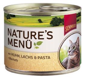 Консервы для кошек Шмуси курица с лососем, 190 г70051Шмуси натура - это полноценная еда для кошек и котов с множеством натуральных ингредиентов. Корм Шмуси богат содержанием отборного мяса, потому что кошки - это настоящие хищники и нуждаются в пище, богатой белками. В этих баночках плотно набитые кусочки мяса без жидкости. Кроме отборного мяса в состав входят пивные дрожжи, которые укрепляют имунную систему кошек. Также добавлен таурин для правильного развития организма кошек. Состав: Курица, лосось, отборное мясо, печень, мясные субпродукты, паств, пивные дрожжи, минеральные вещества. Условия хранения: комнатная температура в закрытом виде, после вскрытия до 2 дней в холодильнике. Особенности: Натуральные компоненты; Без сои, красителей, ароматизаторов, костной муки; Без консервантов Состав: Курица;Лосось;Мясо