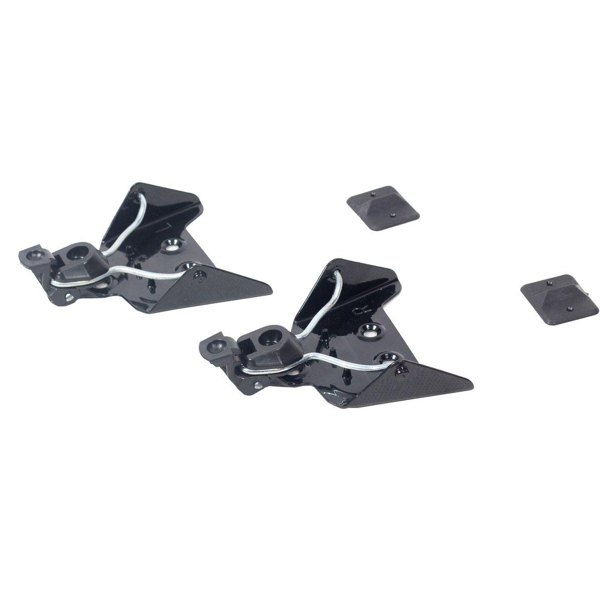 Крепления для беговых лыж Karjala, 75ммKarjala Comfort NNNКрепления для беговых лыж Karjala предназначены для установки на беговые лыжи с использованием ботинок системы NN-75 mm. Установить крепления несложно. Правильно установленное крепление позволит обеспечить удобство катания. На основание креплений нанесены буквы L - левое, R - правое. В комплекте - инструкция по сборке на русском языке.