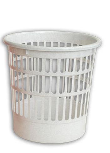 Корзина для мусора. С919, цвет: белый19201Корзина для мусора