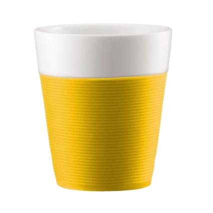 Набор стаканов Bistro 0.3 л 2 шт., желт., арт.A11582-957-Y15A11582-957-Y15