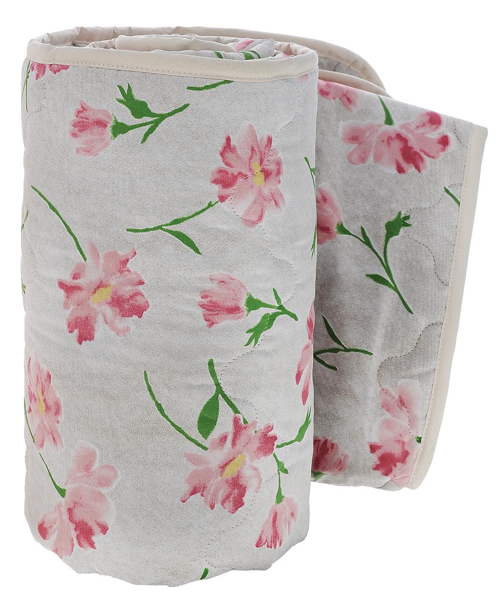 Одеяло всесезонное OL-Tex Miotex, наполнитель: полиэфирное волокно Holfiteks, цвет: серый, бордовые цветы, 172 см х 205 см10503Всесезонное одеяло OL-Tex Miotex создаст комфорт и уют во время сна. Стеганый чехол выполнен из полиэстера и оформлен красивым рисунком. Внутри - наполнитель из полиэфирного высокосиликонизированного волокна Holfiteks, упругий и качественный. Холфитекс - современный экологически чистый синтетический материал, изготовленный по новейшим технологиям. Его уникальность заключается в расположении волокон, которые позволяют моментально восстанавливать форму и сохранять ее долгое время. Изделия с использованием Холфитекса очень удобны в эксплуатации - их можно часто стирать без потери потребительских свойств, они быстро высыхают, не впитывают запахов и совершенно гиппоаллергенны. Холфитекс также обеспечивает хорошую терморегуляцию, поэтому изделия с наполнителем из холфитекса очень комфортны в использовании. Одеяло с наполнителем Холфитекс порадует вас в любое время года. Оно комфортно согревает и создает отличный микроклимат. Рекомендации по уходу:- Стирка при температуре 30°С.- Не гладить.- Не отбеливать. - Нельзя отжимать и сушить в стиральной машине.- Сушить вертикально. Плотность: 300 г/м2.