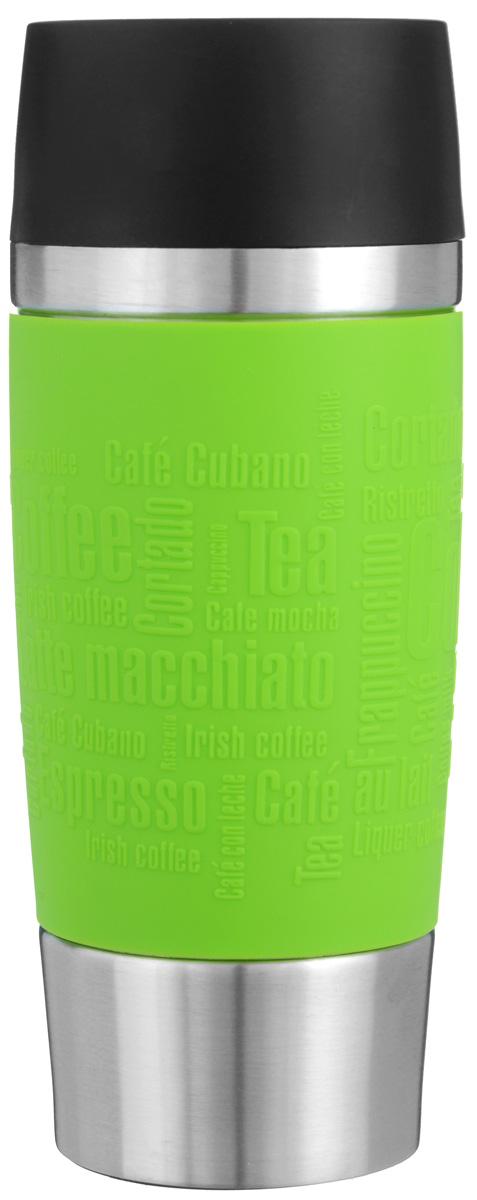 """Термокружка Emsa """"Travel Mug"""", цвет: салатовый, стальной, 0,36 л 513548"""