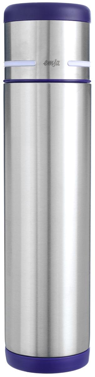 Термос Emsa Mobility, цвет: фиолетовый, стальной, 0,7 л509227Простая и гармоничная форма термоса Emsa Mobility, выполненного из стали, удовлетворит желания любого потребителя. Термос оснащен герметичным клапаном и крышкой, которую можно использовать в качестве стакана, а благодаря системе высококачественной вакуумной изоляции он сохранит ваши напитки горячими или холодными надолго. Диаметр горлышка термоса: 5 см. Диаметр дна термоса: 7 см. Высота термоса (с учетом крышки): 29,5 см. Сохранение холодной температуры: 24 ч. Сохранение горячей температуры: 12 ч.