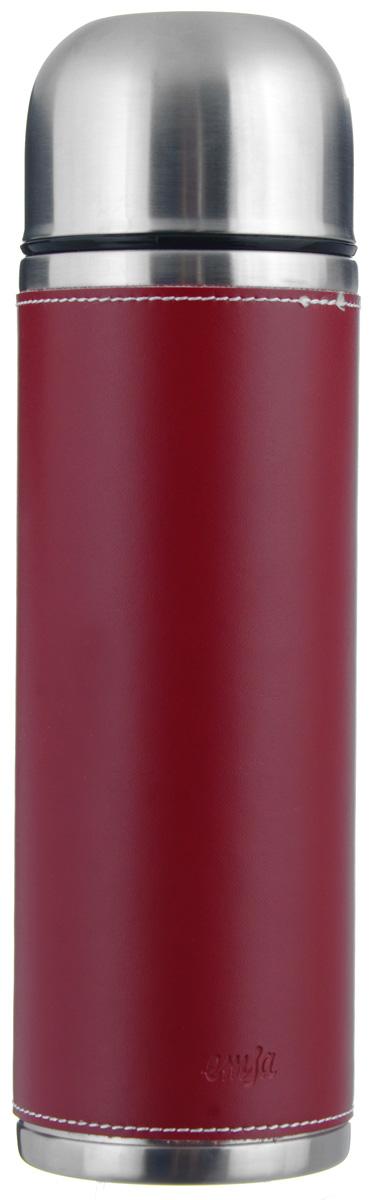 Термос Emsa Senator Class, цвет: красный, 0,7 л502436Простая и гармоничная форма термоса Emsa Senator Class, выполненного из стали, удовлетворит желания любого потребителя. Внешняя сторона изделия одета в кожаный чехол, что позволяет надежно держать его в руках. Термос оснащен герметичным клапаном и крышкой, которую можно использовать в качестве стакана, а благодаря системе высококачественной вакуумной изоляции он сохранит ваши напитки горячими или холодными надолго. Диаметр горлышка термоса: 5 см. Диаметр дна термоса: 8 см. Высота термоса (с учетом крышки): 26,5 см. Сохранение холодной температуры: 24 ч. Сохранение горячей температуры: 12 ч.
