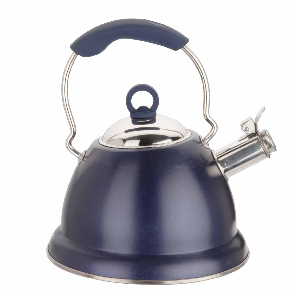 Чайник Dekok, со свистком, 3 лWK-104Чайник Dekok изготовлен из прочной и долговечной нержавеющей стали с эмалевым покрытием. Не подвержен коррозии и окислениям. Многослойное капсульное дно и утолщенный корпус обеспечивают быстрый и равномерный нагрев и надолго сохраняют вскипяченную воду горячей. Силиконовая термоизоляционная ручка Soft Touch делает использование чайника очень удобным и безопасным. Носик чайника имеет насадку-свисток, что позволит вам контролировать процесс подогрева или кипячения воды. Встроенный фильтр защитит наливаемую воду от накипи. Выполненный из качественных материалов чайник Dekok при кипячении сохраняет все полезные свойства воды. Чайник пригоден для газовых, электрических, стеклокерамических и индукционных плит. Можно мыть в посудомоечной машине. Высота чайника (без учета крышки и ручки): 14,5 см. Высота чайника (с учетом крышки и ручки): 28 см. Диаметр основания: 22,5 см. Диаметр (по верхнему краю): 9,5 см.