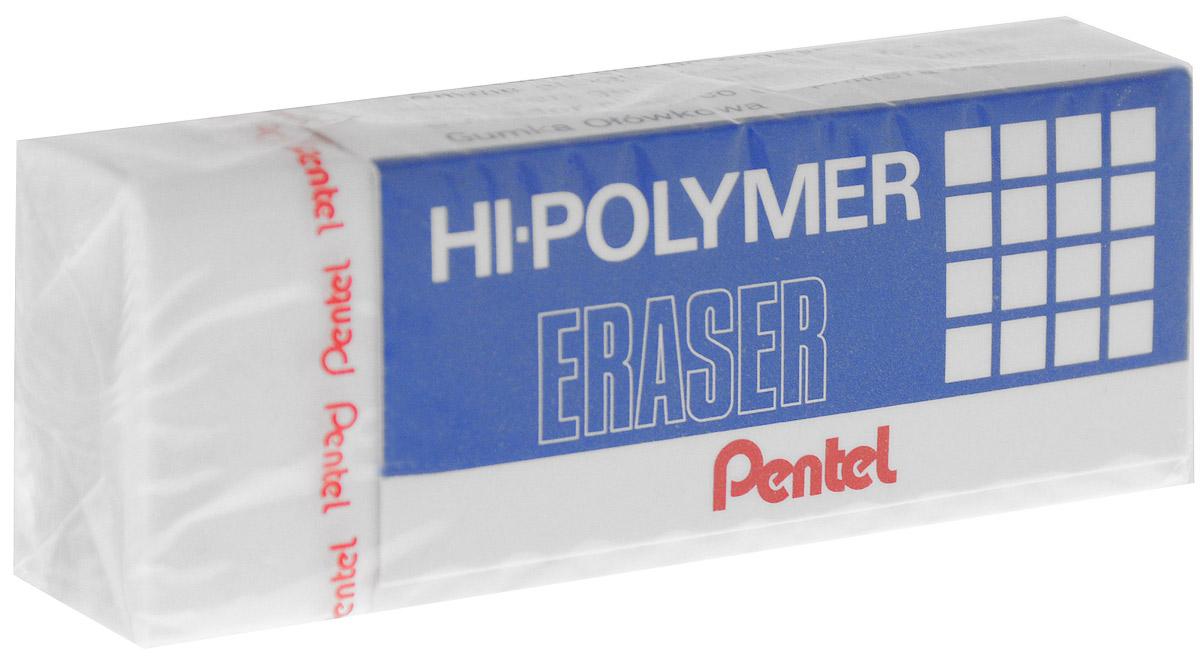 Pentel Ластик Eraser цвет белыйPZEH-10Высокополимерный ластик Pentel Eraser обеспечивает мягкое и легкое стирание. Он стирает не за счет трения, как обычные каучуковые ластики, а за счет присутствия в составе микрокапсул специального растворяющего вещества. Не повреждают бумагу даже при многократном стирании.