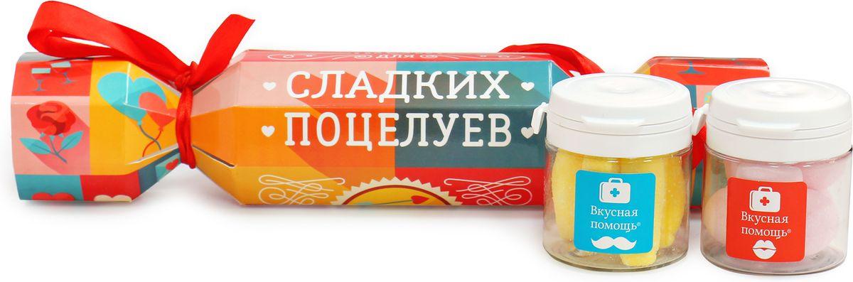 "Набор Вкусная помощь ""Для поцелуев"", 2 х 50 мл 4680016270060"