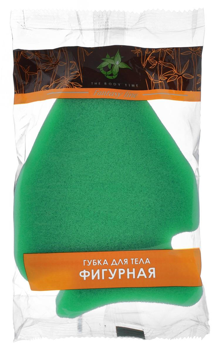 Губка для тела The Body Time Фигурная, цвет: зеленый, 15 х 10 х 4 см66646_зеленыйГубка для тела The Body Time Фигурная изготовлена из мягкого поролона. Подходит для нежной, чувствительной кожи. Идеально очищает и массирует кожу во время мытья, улучшая кровообращение и повышая тонус. Пористая структура губки создает воздушную пену даже при небольшом количестве геля для душа.