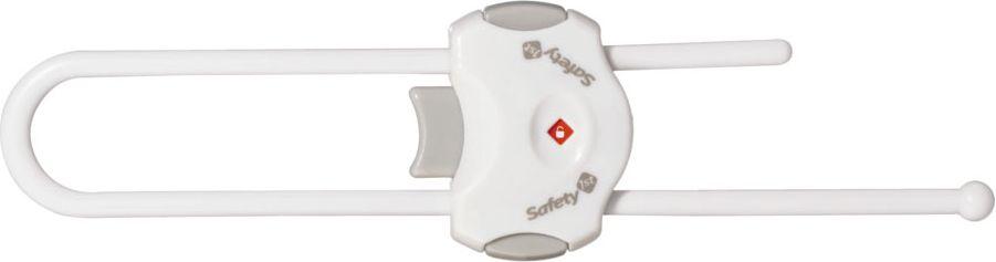 Safety 1st Блокиратор открывания распашной дверцы цвет белый