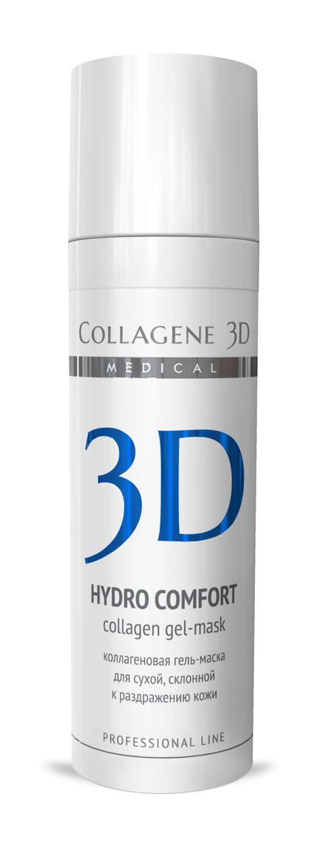 Medical Collagene 3D Гель для лица профессиональный Hydro Comfort, 30 мл25013Гель-маска подходит для проведения самостоятельной процедуры, а также сочетается с аппаратными методиками. Оказывает противовоспалительное, смягчающее и увлажняющее действие. Мнгновенный лифтинг-эффект