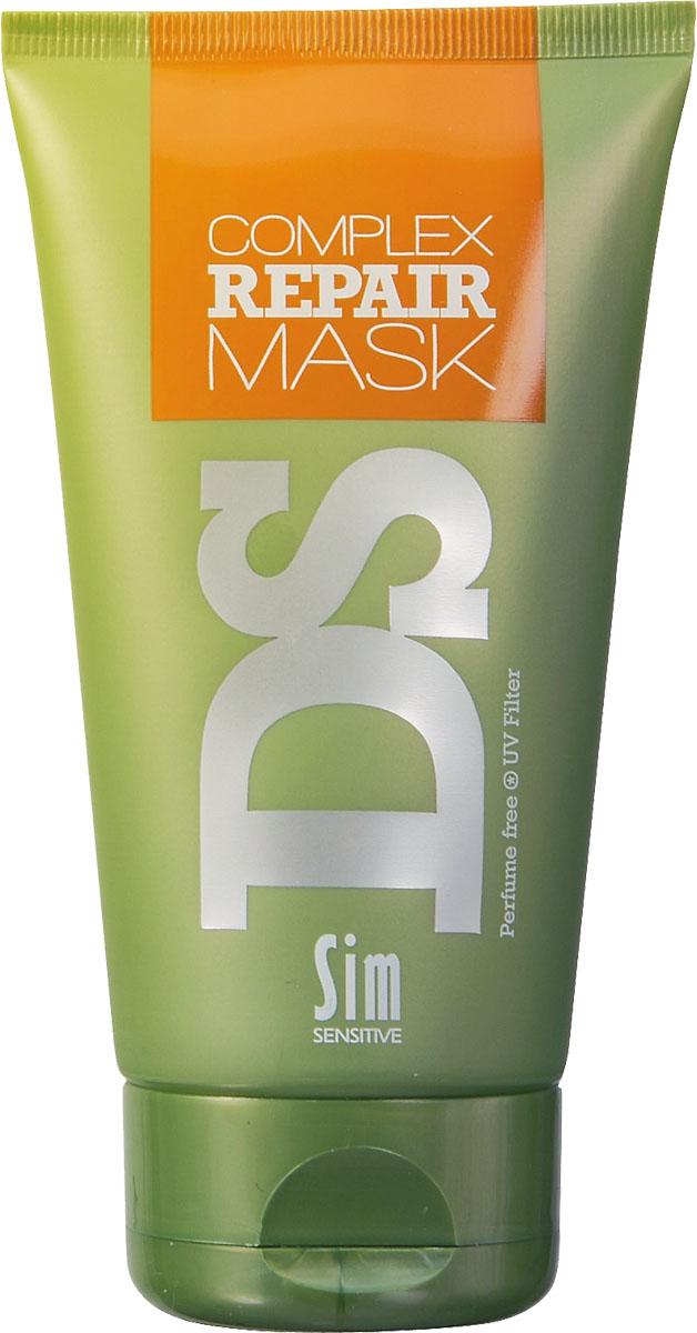 SIM SENSITIVE Маска для восстановления волос Repair 150 мл5187В целях достижения восстанавливающего эффекта, в бальзам включены необходимые для этого ингредиенты: аргановое масло, пшеничные протеины и натуральный воск. Кроме них, бальзам снабжен УФ-фильтром, защищающим волосы от ультрафиолета.Состав:аргановое масло в увеличенной концентрации, масло ши (карите), протеины пшеницы, гидролизованный белок и рапсовое масло. Маска также снабжена УФ-фильтром, защищающим волосы от ультрафиолета. Маска не содержит сульфаты, парабены и ароматизаторы.