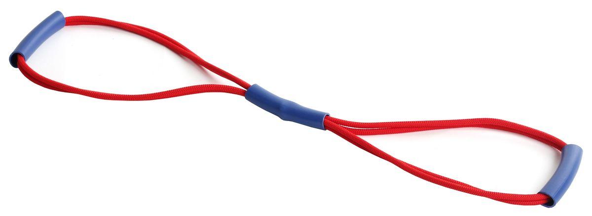 Эспандер PLASTEP 8, двойная резинка, цвет: красный0003954Грудной эспандер, двойная резинка.