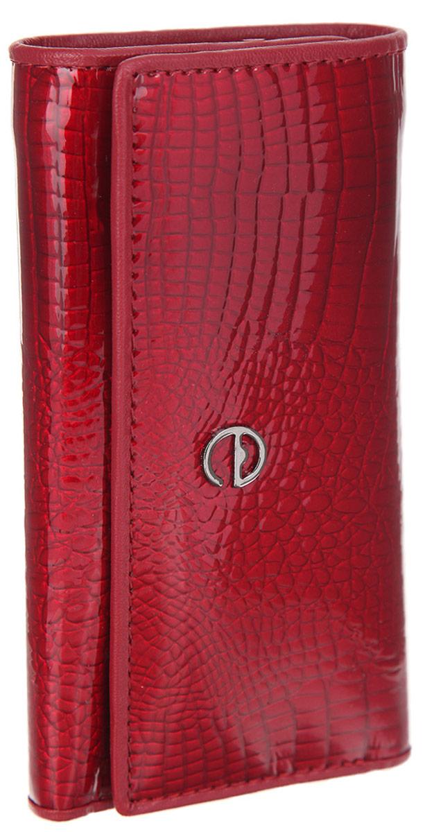 Ключница женская Cheribags, цвет: красный. 1040-16