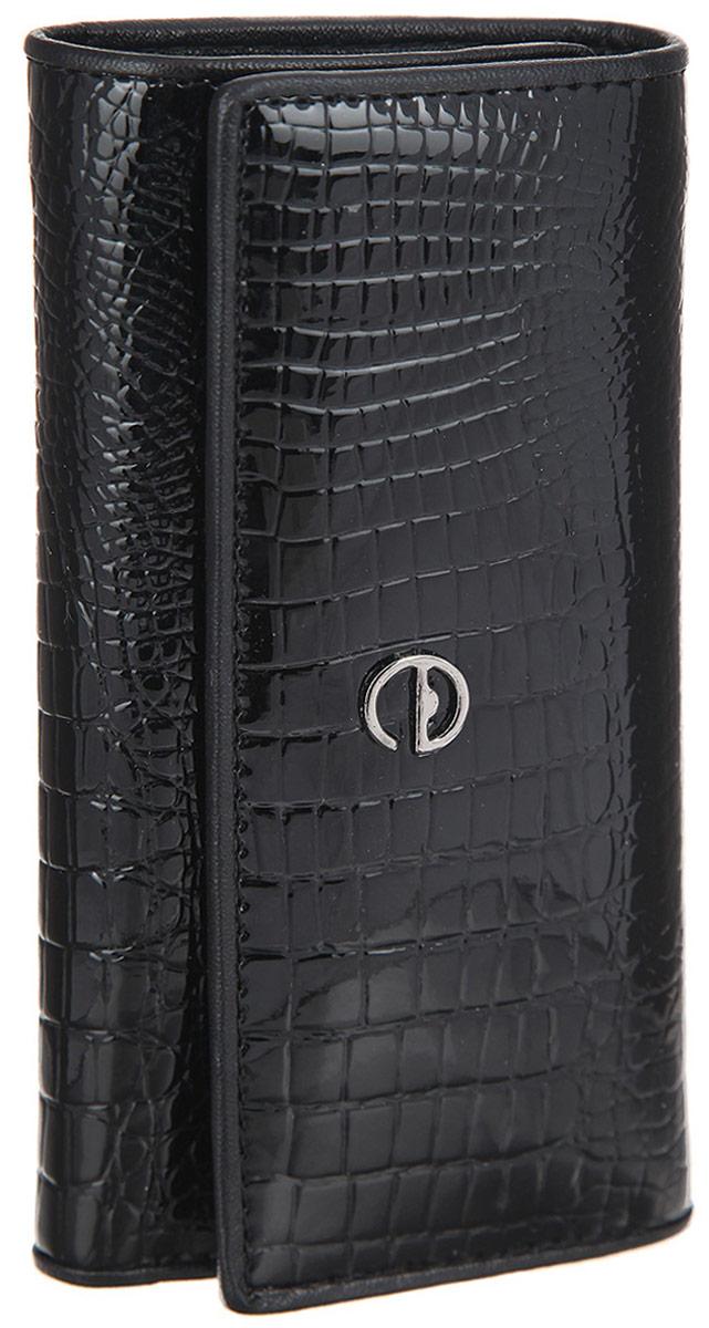 Ключница женская Cheribags, цвет: черный. 1040-10
