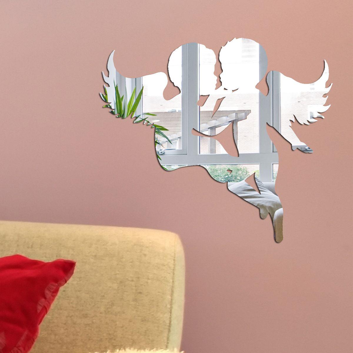 Декоративное зеркало Paris-Paris Амурчики, 32 х 29 смПР01351Фигурное зеркало Paris-Paris - это яркий декоративный объект, по отражающим свойствам не уступающий классическому стеклянному зеркалу. Всегда разные в зависимости от того, где они располагаются, зеркала Paris-Paris каждый раз вступают в новый диалог с интерьером! Зеркало из гибкого органического стекла. Этот легкий и прочный материал по сравнению с обычным стеклом более устойчив к повреждениям и обеспечивает максимальный визуальный эффект. Крепится к стене при помощи специального двустороннего скотча входящего в комплект. Инструкция: Если вы уже выбрали место для вашего зеркала, весь процесс займет 3 минуты. Стена должна быть чистой и сухой. Снимите защитную пленку с клейкой ленты на обратной стороне зеркала; Разместите зеркало на стене; Аккуратно снимите с зеркала защитную пленку.