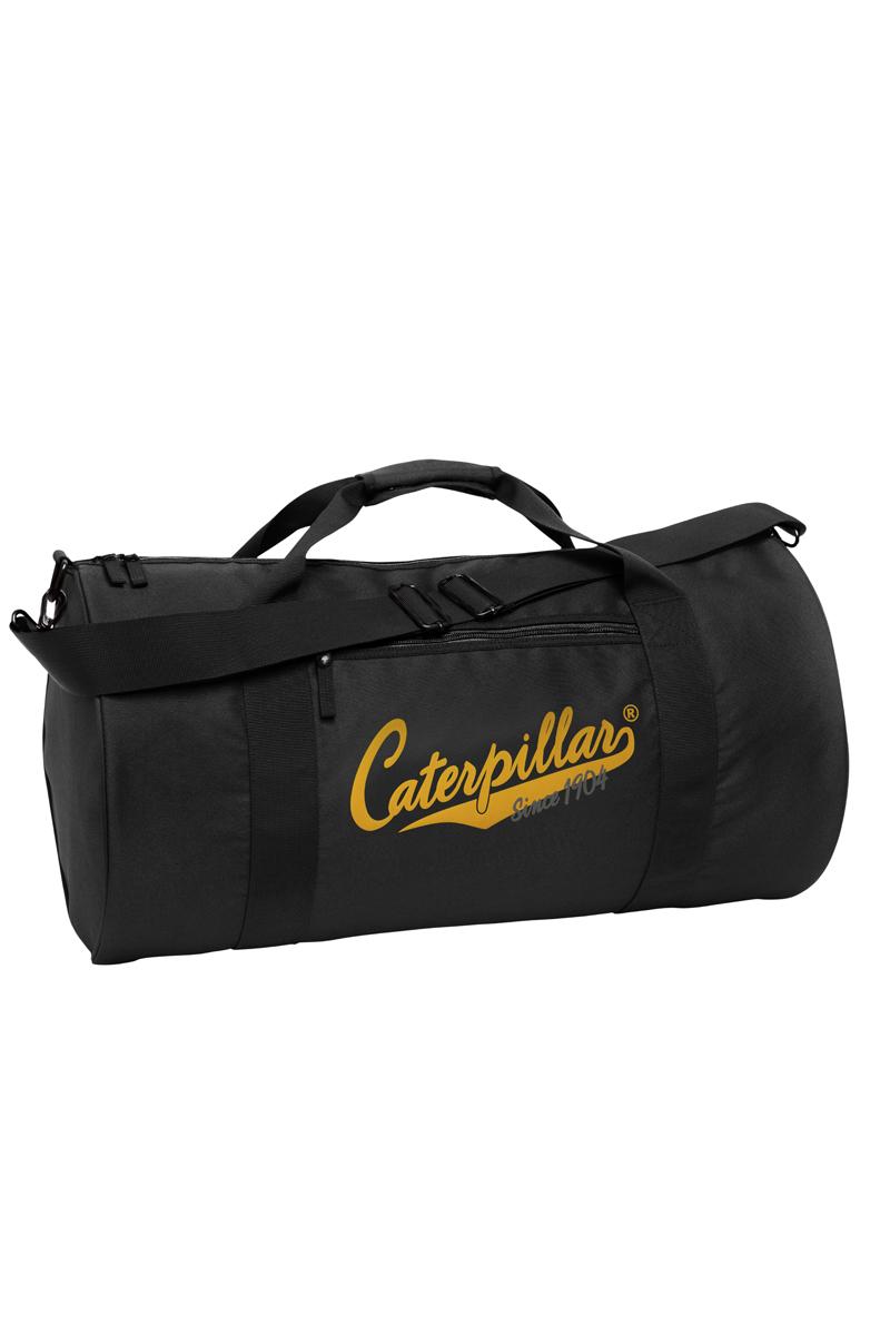 Сумка дорожная Caterpillar, цвет: черный, 40 л. 82600-0182600-01Дорожная сумка Caterpillar выполнена из полиэстера и оформлена названием бренда производителя. Изделие имеет одно вместительное отделение, которое закрывается на застежку-молнию. Внутри имеется прорезной карман на застежке-молнии. Снаружи, на передней стенке расположен прорезной карман на застежке-молнии. Изделие оснащено двумя удобными ручками. В комплект входит съемный регулируемый плечевой ремень. Стильная дорожная сумка Caterpillar станет заменимым спутником в вашем путешествии. Также подойдет для походов в спортивный зал, в нее можно положить все необходимое.
