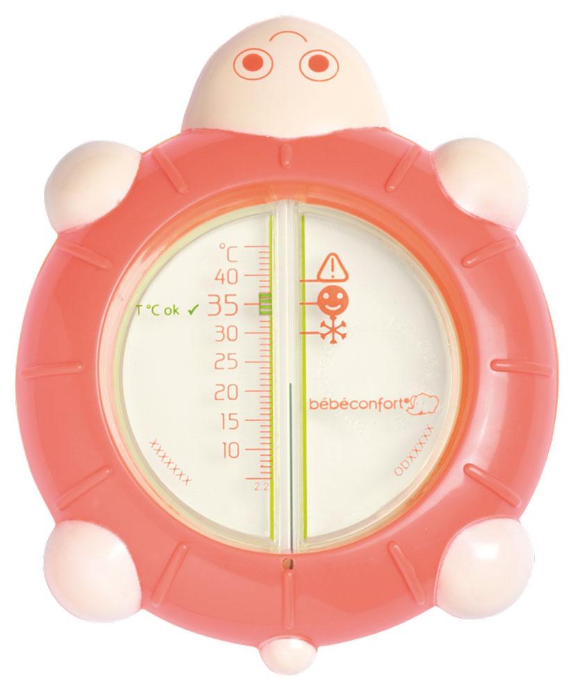 Bebe Confort Термометр для воды Черепашка коралл