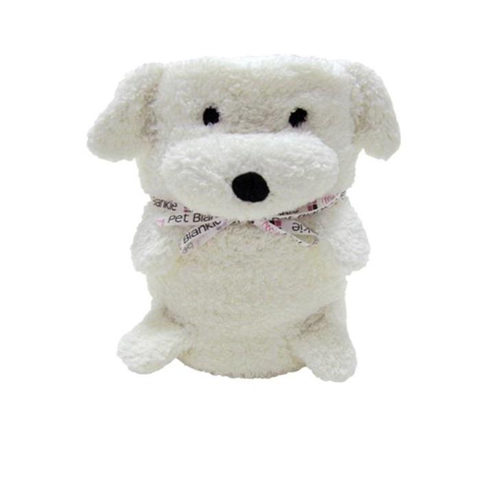 My Pet Blankie Мягкая игрушка - плед - покрывало Собака Эрни850773 в 1 Мягкая игрушка - Плед - Покрывало Экологичный, мягкий и приятный на ощупь материал Легко стирается (ручная и машинная стирка) Игрушка будет отличным другом в путешествии Отличный подарок на День рождения или праздник