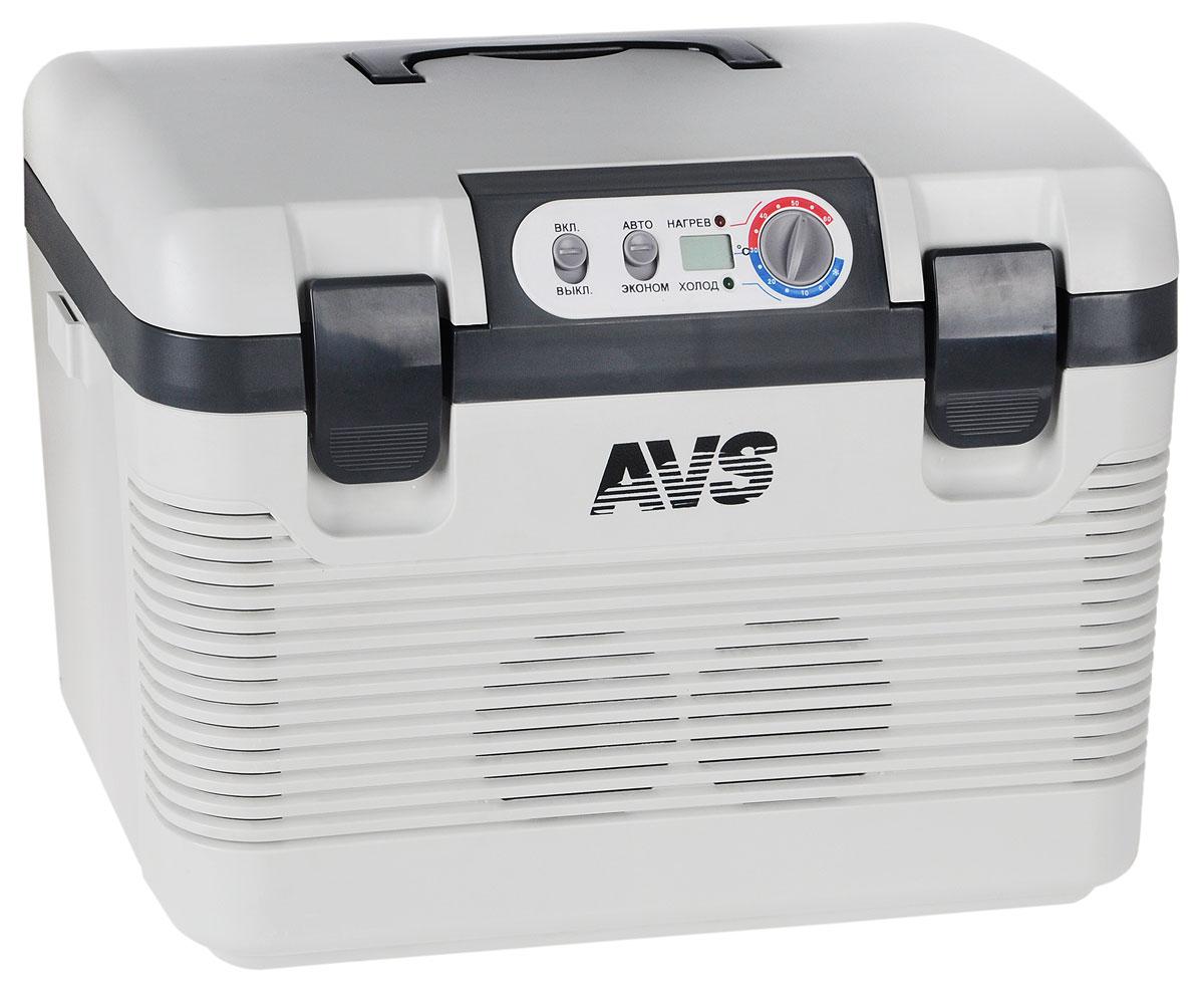 Холодильник автомобильный AVS CC-19WBC, 19 лA80971SАвтомобильный термоконтейнер AVS CC-19WBC - это незаменимое устройство для большинства активных людей, которые значительную часть своего времени проводят в дороге, путешествуя по просторам нашей необъятной Родины или за рубежом. Несмотря на свое название - Автомобильный термоконтейнер, его можно использовать не только непосредственно в автомобиле, а также на даче, на природе или в других средствах транспорта (катера, туристические автобусы, грузовой транспорт), так как помимо подключения 12V, изделие также имеет разъем для подключения провода 220V (бытовая сеть), предусмотрено питание от сети грузового автомобиля (24V). Термоконтейнер способен удовлетворить практически любого покупателя, независимо от того, где он его будет использовать. Изделие выполнено из безопасного и высокопрочного полимера. Вся термическая изоляция изготовлена из экологически чистых материалов. Помимо неотъемлемой функции охлаждения, устройство способно переключаться в режим нагрева, при этом...