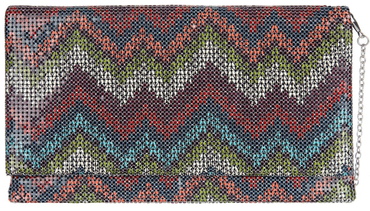 Клатч женский Модные истории, цвет: мультицвет. 3/0221