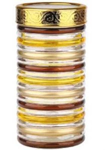 Банка для сыпучих продуктов Bohmann Кольца, цвет: прозрачный, золотой, коричневый, 1,7 л01331BHGNEWБанка Bohmann Кольца изготовлена из стекла. Емкость снабжена пластиковой крышкой, которая плотно и герметично закрывается, дольше сохраняя аромат и свежесть содержимого. Банка подходит для хранения сыпучих продуктов: круп, специй, сахара, соли. Такая банка станет полезным приобретением и пригодится на любой кухне. Диаметр: 11,5 см. Высота: 22,5 см.