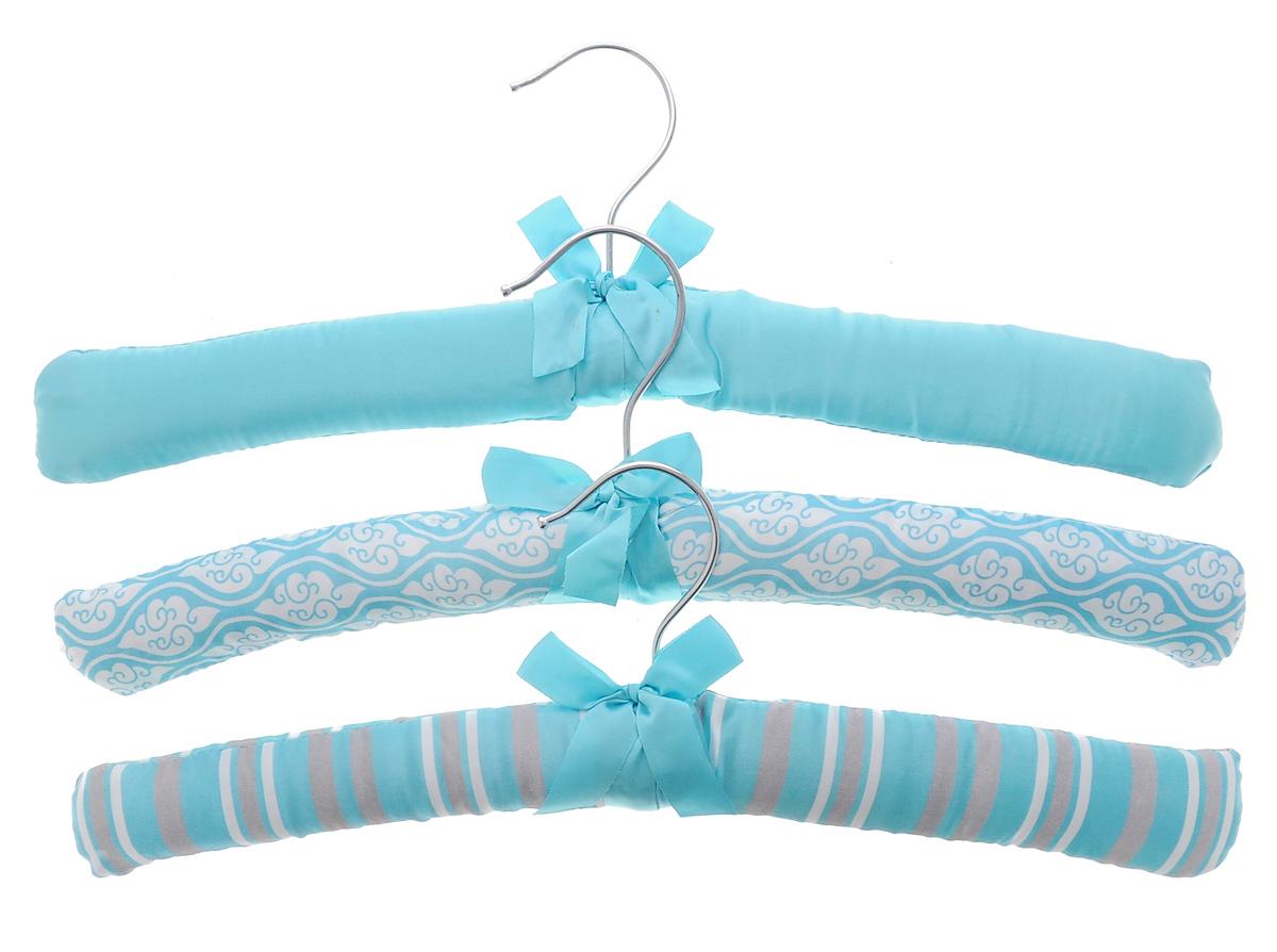 Набор вешалок для одежды El Casa, 3 шт. 150003150003Набор El Casa, изготовленный из дерева, поролона и сатина, состоит из трех вешалок. Он идеально подойдет для деликатной одежды из шерсти и нежных тканей. Набор El Casa станет практичным и полезным в вашем гардеробе. С ним ваша одежда избежит ненужных растяжек и провисаний. Комплектация: 3 шт. Размер вешалки (ВхДхШ): 11 см х 38 см х 3,5 см.