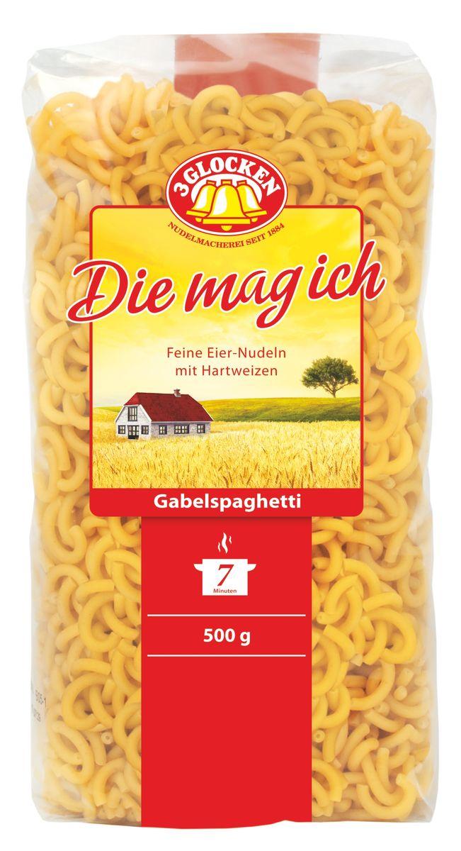 3 Glocken Gabelspagetti мелкие рожки, 500 г DMI 500729