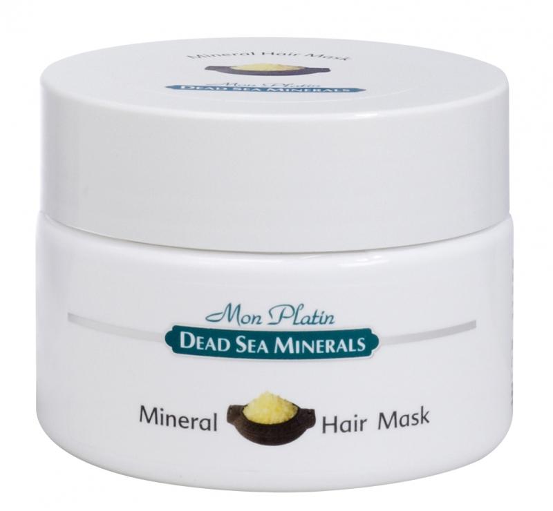 Mon Platin DSM Маска для волос с минералами 250 млБ33041_шампунь-барбарис и липа, скраб -черная смородинаМаска насыщена Минералами (26 минералов) и солью Мертвого моря, что благоприятно влияет на состояние кожи головы и обеспечивает прекрасное комплексное питание для волос по всей длине. Экстракт ромашки римской оказывает противовоспалительное, антисептическое, успокаивающее действие на кожу головы. Диметикон, входящий в состав маски, формирует защитный барьер, предотвращает трансдермальную потерю влаги, покрывает волосы тончайшей неощутимой пленкой, которая защищает их от горячего воздуха фена и солнечного излучения. Для всех типов волос.