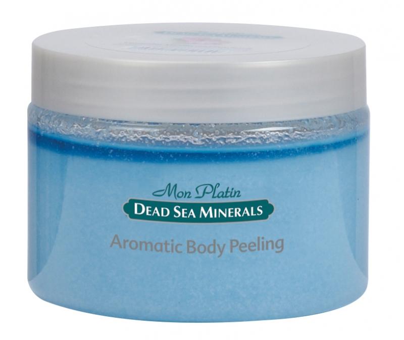 Mon Platin DSM Ароматический пилинг для тела с экстрактом лаванды, ванили и пачули 330 млDSM99Ароматический пилинг для тела - это смесь ароматических масел лаванды, ванили, пачули и соляных гранул Мертвого моря – улучшает структуру кожи и придает ей эластичность и бархатистость. Масла пачули и лаванды успокаивают кожу, масло ванили укрепляет, питает и освежает кожу; соляные гранулы очищают от омертвевших и ороговевших клеток, придавая коже гладкость и бархатистость, а также ощущение свежести