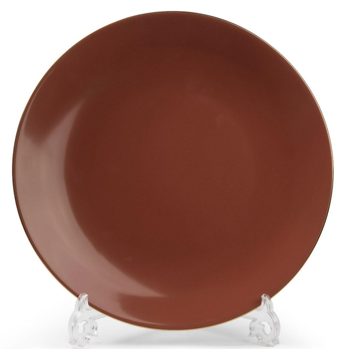 Monalisa 3126 набор тарелок 27 см*6 шт, цвет: мокко с золотом7 290 063 126В наборе тарелка 27 см 6 штук Материал: фарфор: цвет: мокко с золотом Серия: MONALISA