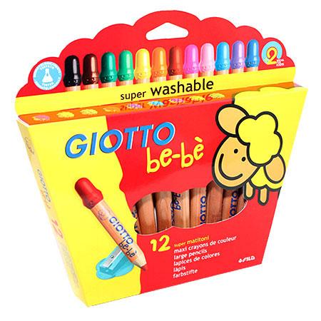 Цветные карандаши Giotto Bebe Super Largepencils, c точилкой, 12 цветов466500От производителя Цветные карандаши Glotto Bebe Super Largepencils непременно, понравятся вашему юному художнику. Набор включает в себя 12 ярких насыщенных цветных карандаша утолщенной формы. Каждый карандаш имеет защитный колпачок. Идеально подходят для детских садов и школьников младших классов. Карандаши изготовлены из калифорнийского кедра, экологически чистые. Имеют прочный неломающийся грифель, не требующий сильного нажатия и легко затачиваются. Без труда стираются и отстирываются. Порадуйте своего ребенка таким восхитительным подарком! В комплекте: 12 карандашей, точилка. Цветные карандаши Glotto Bebe Super Largepencils непременно, понравятся вашему юному художнику. Набор включает в себя 12 ярких насыщенных цветных карандаша утолщенной формы. Каждый карандаш имеет защитный колпачок. Идеально подходят для детских садов и школьников младших классов. Карандаши изготовлены из калифорнийского кедра, экологически чистые. Имеют прочный неломающийся...