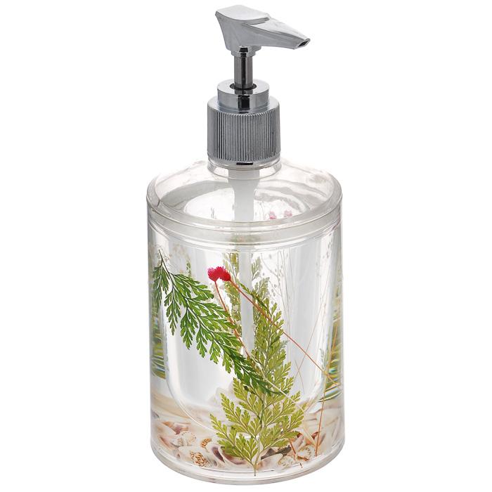 Дозатор для жидкого мыла Duschy Маки877-06Дозатор для жидкого мыла Duschy Маки выполнен из высококачественного пластика с нетоксичной жидкостью. Дозатор отличается легкостью и компактностью, при этом он устойчив. Такой дозатор станет достойным дополнением интерьера ванной комнаты.