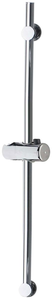 Душевая стойка Minimal, цвет: хром, высота 75 см53390Душевая стойка Minimal выполнена из пластика и латуни цвета хрома. Крепится на стену с помощью шурупов (входят в комплект). На задней стороне упаковки нарисована подробная инструкция по сборке стойки. Благодаря подвижному кронштейну можно использовать старые отверстия для шурупов.
