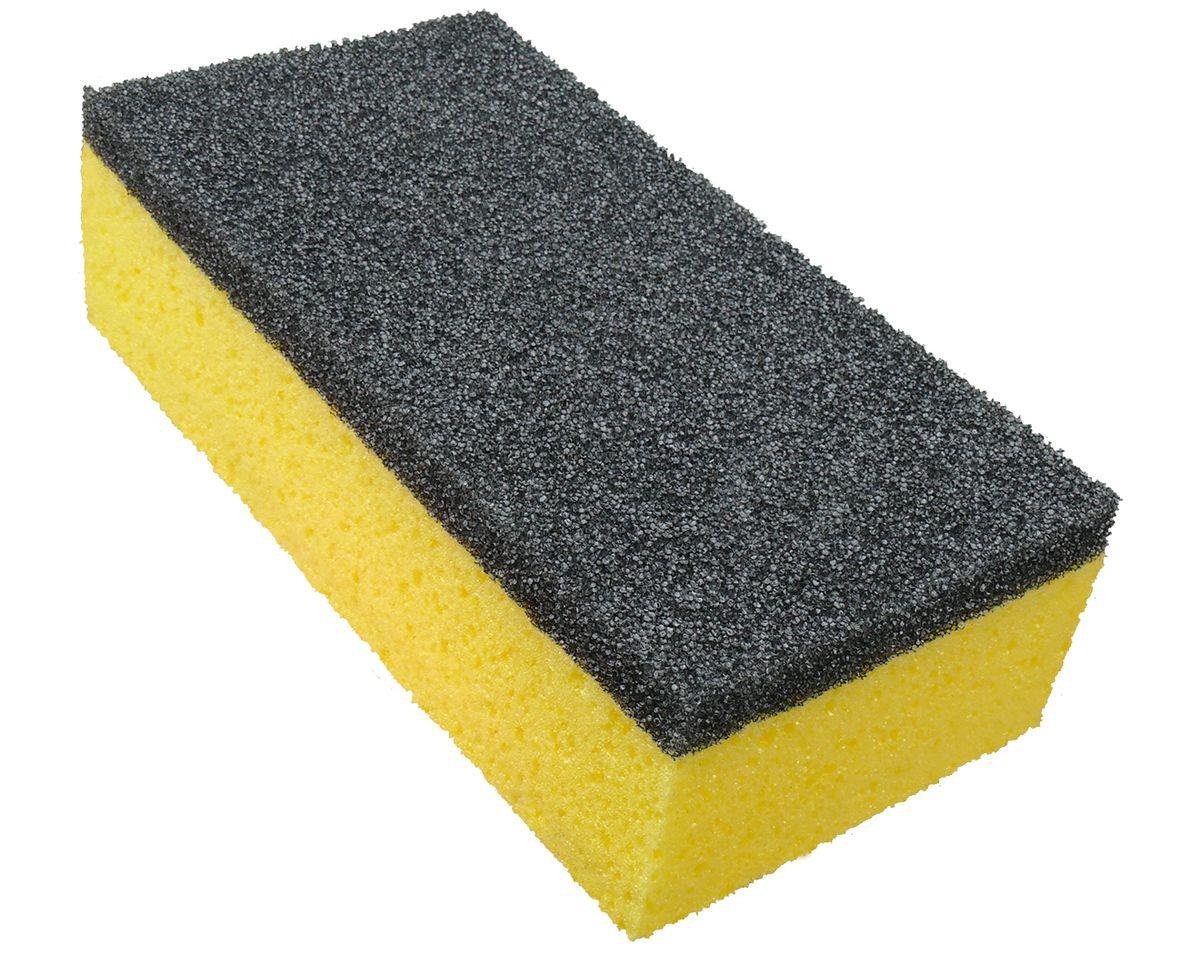 Губка для автомобиля York Auto, двусторонняя1203Губка York Auto изготовлена из полиэстеровой и полиуретановой пен, которые обеспечивают бережный уход за покрытием автомобиля. С одной стороны, губка желтого цвета с пористой структурой, которая нежно моет кузов, а также окна машины. С другой стороны – губка серого цвета, с очень пористой структурой сделана из специального материала, для удаления сильных загрязнений (насекомые, грязь), или для мытья дисков. Два вида губок идеально удаляют загрязнения, не размазывая по очищенной поверхности. Как один, так и другой слой губки – не царапает очищенной поверхности и не оставляет разводов. Превосходно пенится, даже при небольшом количестве моющих средств. Размер губки: 21 х 10,5 х 6,5 см.