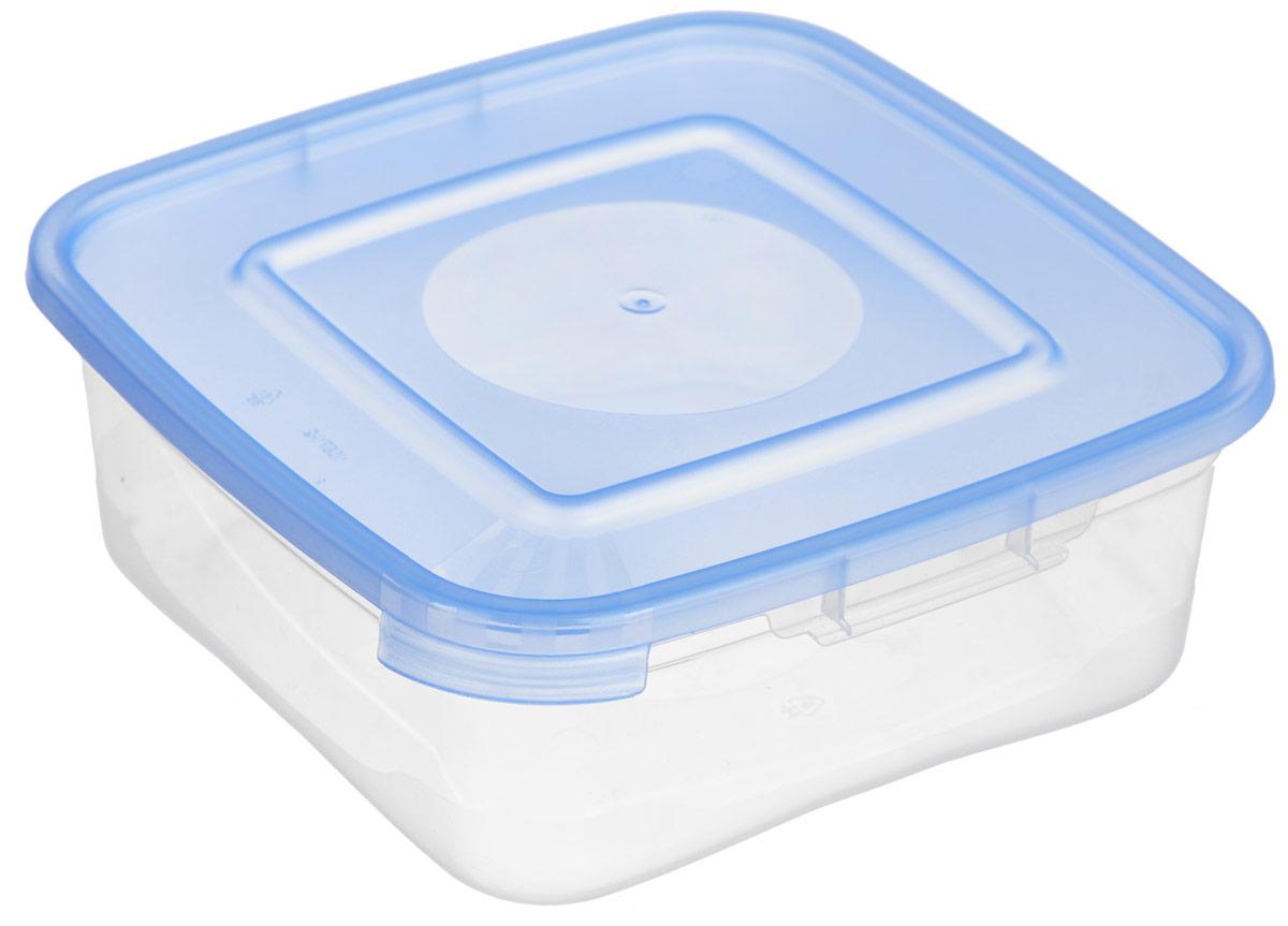 Контейнер для СВЧ Полимербыт Каскад, цвет: голубой, прозрачный, 700 млVT-1520(SR)Контейнер для СВЧ Полимербыт Каскад изготовлен из высококачественного прочного пластика, устойчивого к высоким температурам (до +110°С). Стенки контейнера прозрачные, что позволяет видеть содержимое. Цветная полупрозрачная крышка плотно закрывается. Контейнер идеально подходит для хранения пищи, его удобно брать с собой на работу, учебу, пикник или просто использовать для хранения пищи в холодильнике.Можно использовать в микроволновой печи и для заморозки в морозильной камере. Можно мыть в посудомоечной машине.