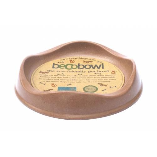 Миска для кошек Beco-C, коричневая, 150 мл0120710Продукция BecoThings является альтернативой пластиковым, керамическим и резиновым изделиям. Товары BecoThings изготовлены из бамбуковых волокон с рисовой шелухой, путем добавления биологической смолы и последующего прессования в горячих формах. Основными преимуществами продукции BecoThings является не токсичность, прочность и долговечность.