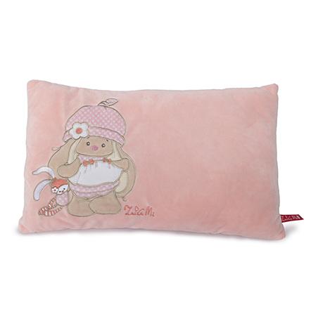 Подушка Зайка Ми цвет розовый