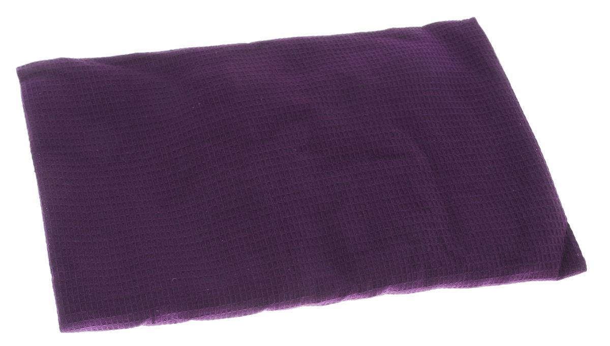 Накидка для бани и сауны Банные штучки, женская, цвет: фиолетовый32058_фиолетовыйВафельная накидка Банные штучки, изготовленная из 100% натурального хлопка, станет незаменимым аксессуаром в бане или сауне. Изделие снабжено резинкой и застежкой-липучкой. Имеет универсальный размер. Такая накидка - очень функциональная вещь, ее также можно использовать как полотенце или коврик на скамейку. Размер: 36-60.