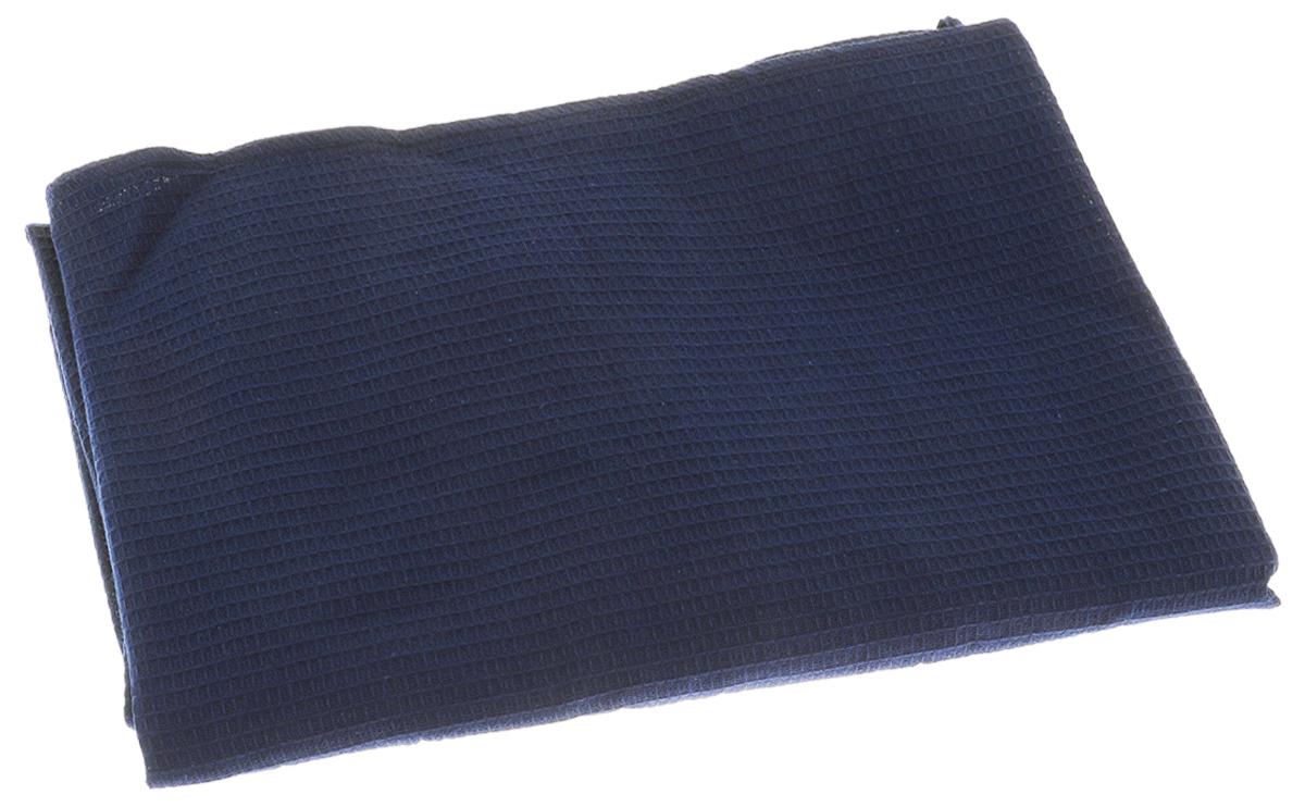 Накидка для бани и сауны Банные штучки, женская, цвет: синий531-401Вафельная накидка Банные штучки, изготовленная из 100% натурального хлопка, станет незаменимым аксессуаром в бане или сауне. Изделие снабжено резинкой и застежкой-липучкой. Имеет универсальный размер. Такая накидка - очень функциональная вещь, ее также можно использовать как полотенце или коврик на скамейку.Размер: 36-60.