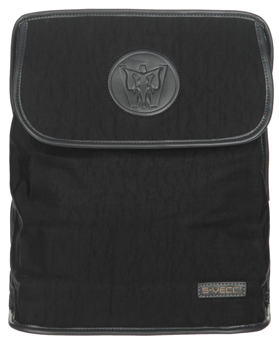 Рюкзак мужской Leighton, цвет: черный, серый. 2001BP-001 BKСтильный мужской рюкзак Leighton выполнен из плотного текстиля и искусственной кожи.Изделие содержит одно основное отделение, закрывающееся на клапан с кнопками. Внутри имеются два накладных открытых кармашка, прорезной карман на застежке-молнии и мягкий карман для планшета. Снаружи на передней стенке под клапаном располагается прорезной карман на застежке-молнии. На задней стенке находится дополнительный прорезной карман на застежке-молнии.Модель оснащена двумя текстильными лямками, которые регулируются по длине, и удобной ручкой. Клапан оформлен нашивкой с фирменным тиснением. Высота изделия позволяет вмещать документы формата А4.Оригинальный рюкзак подчеркнет вашу уверенность в себе и чувство стиля.