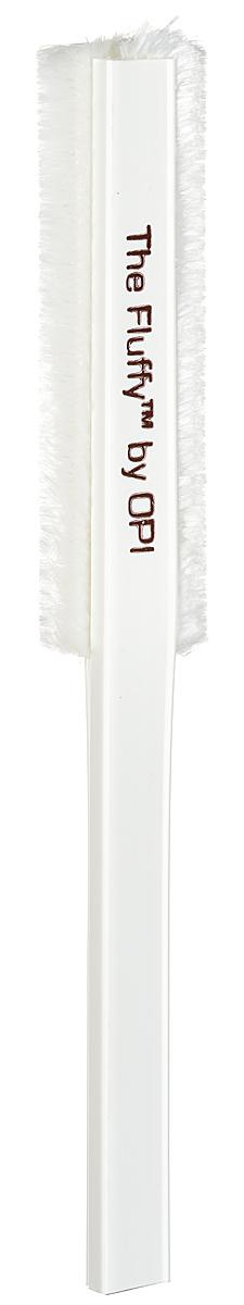 OPI Пуховка для ногтей  The FluffyAC915Пуховка для ногтей от OPI Fluffy - инструмент для маникюра и педикюра, который позволяет мягко удалить опил с поверхности искусственных и натуральных ногтей. Многоразовая, не статичная пуховка может быть очищена и продезинфицирована. Размер рабочей поверхности: 9,5 см х 2,5 см. Товар сертифицирован.