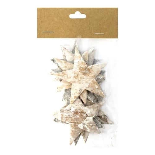 Декоративный элемент Dongjiang Art Звезда, цвет: белый, 12 шт7709007_отбеленныйДекоративный элемент Dongjiang Art Звезда, изготовленный из натуральной коры дерева, предназначен для украшения цветочных композиций. Изделие выполнено в виде звезды, которое можно также использовать в технике скрапбукинг и многом другом. Флористика - вид декоративно-прикладного искусства, который использует живые, засушенные или консервированные природные материалы для создания флористических работ. Это целый мир, в котором есть место и строгому математическому расчету, и вдохновению. Размер одного элемента: 6,5 см х 5,5 см.