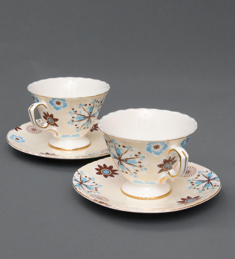 Набор чайный Pavone Антонелла, цвет: желтый, 4 предмета115610Чайный набор Pavone Антонелла, выполненный из высококачественного фарфора, состоит из 2 чашек и 2 блюдец. Предметы набора декорированы изображением цветов. Изделия прекрасно подойдут как для повседневного использования, так и для праздников. Набор Pavone Антонелла - это не только яркий и полезный подарок для родных и близких, но и великолепное дизайнерское решение для вашей кухни или столовой. Объем чашки: 200 мл. Высота чашки: 8 см. Диаметр блюдца: 16 см.