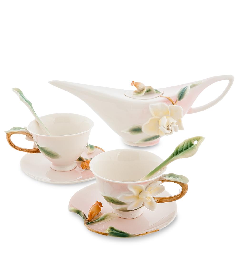 Чайный набор Гардения на 2 персоны (Pavone)104312