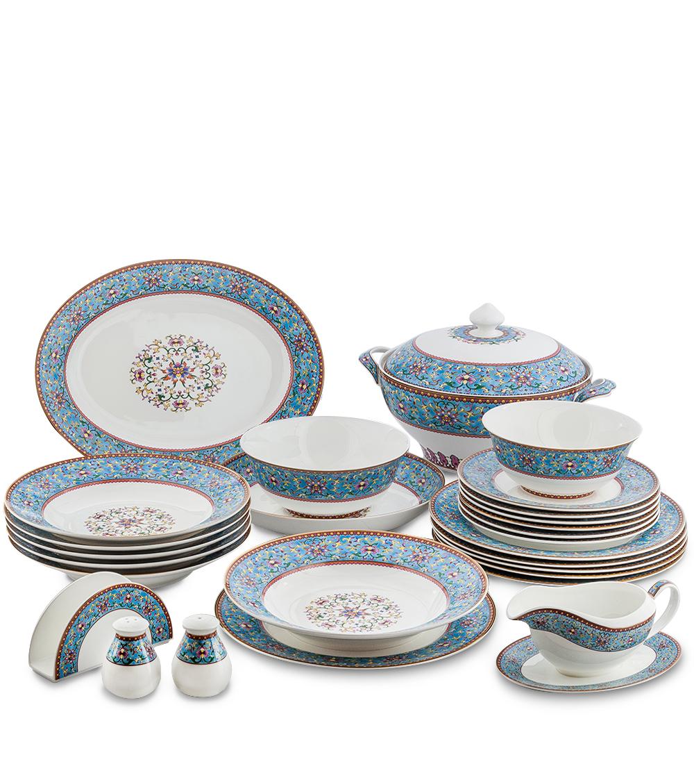 Столовый сервиз на 6 перс. Арабески (Arabesca Blue Pavone)451552